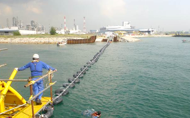 Relocation of power and communication cable in Singapore